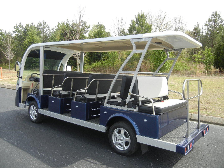 Open Club Car (8-10 Person) - EcoMobility Expo Online 2017